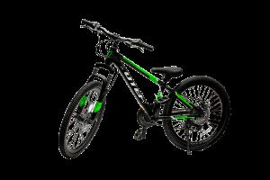 אופני ילדים ונוער TOTEM 24'' SUNSHINE שחור/ירוק